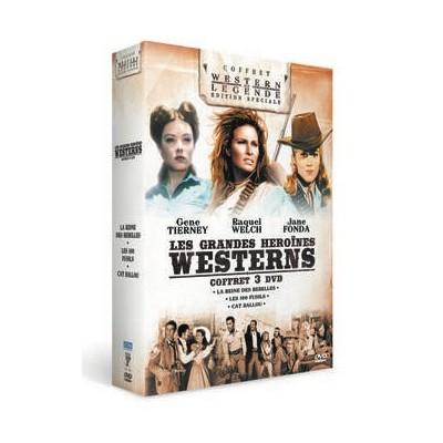 Coffret Grandes héroïnes du western