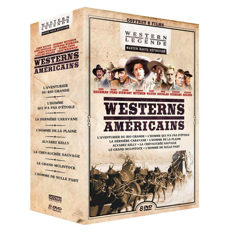 COFFRET - WESTERNS AMERICAINS