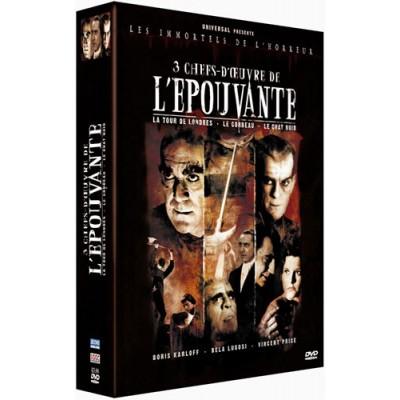 Coffret Épouvante - 3 DVD