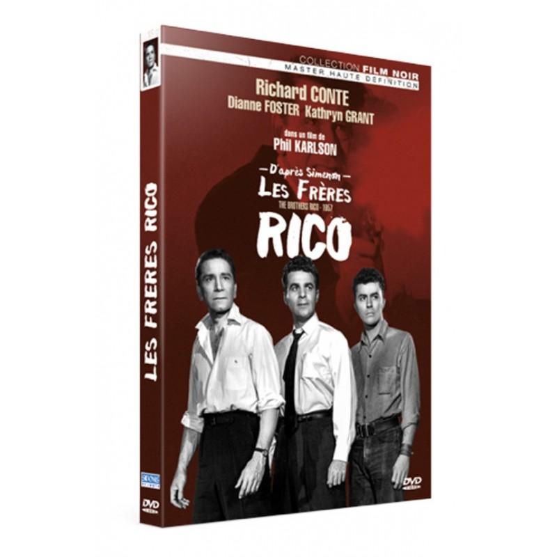 Les frères Rico Films noirs