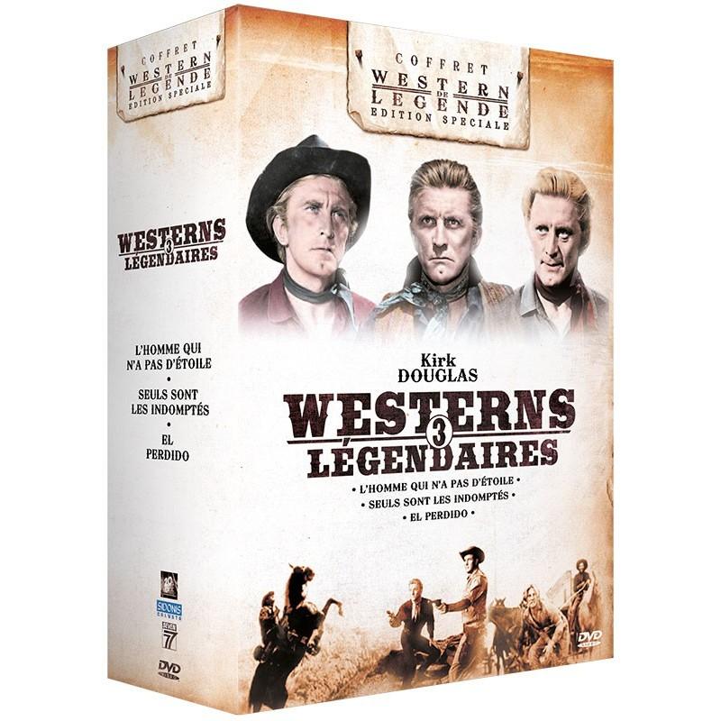 Coffret Kirk Douglas Westerns de Légende