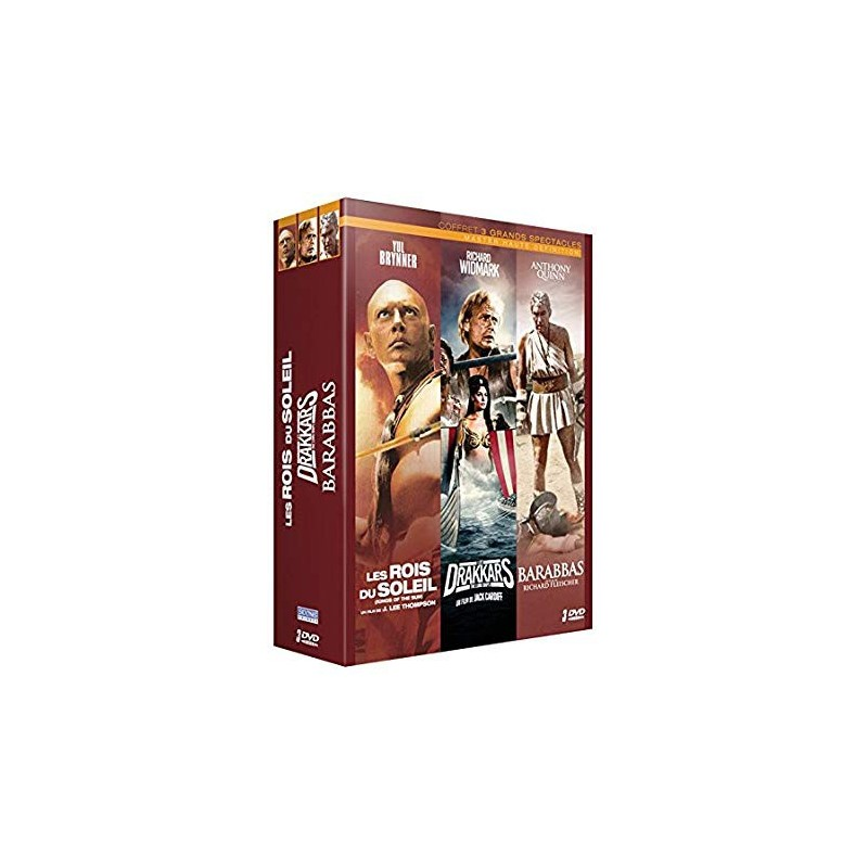 Coffret 3 Grands Spectacles Coffrets
