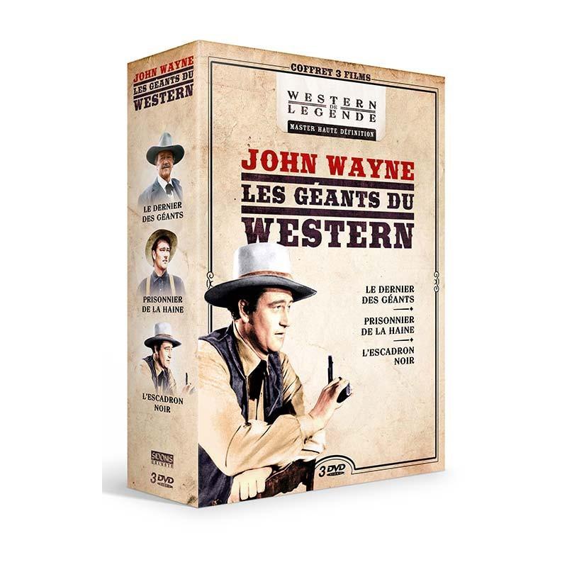 Coffret John Wayne Promos coffrets westerns