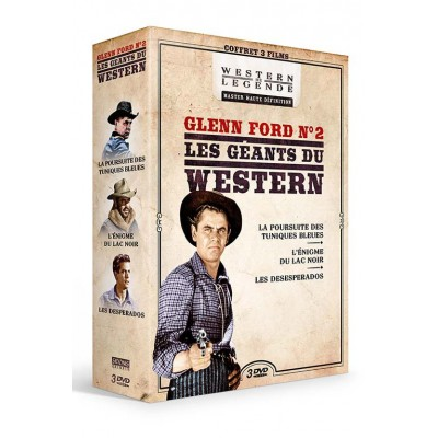 Coffret Glen Ford n°2 Westerns de Légende