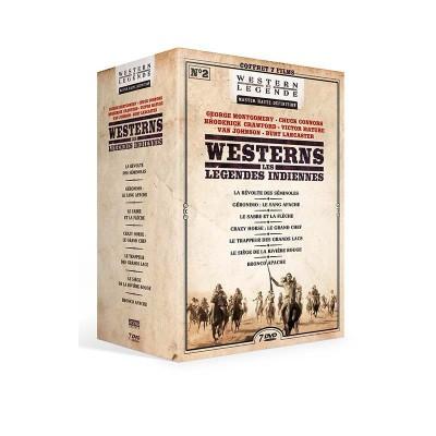 Coffret Les légendes indiennes n°2 Westerns de Légende