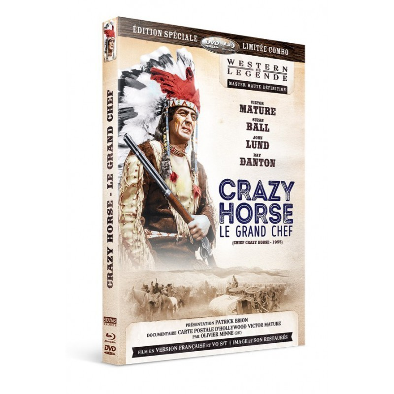 Crazy Horse le Grand chef Westerns de Légende
