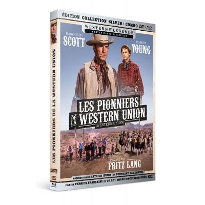 Les pionniers de la Western Union - Combo DVD - Blu-Ray Westerns de Légende