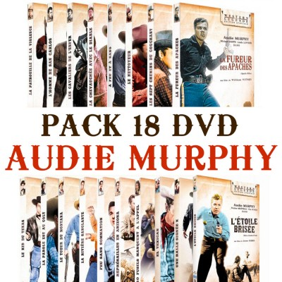 Pack 18 DVD Audie Murphy Boutique Audie Murphy