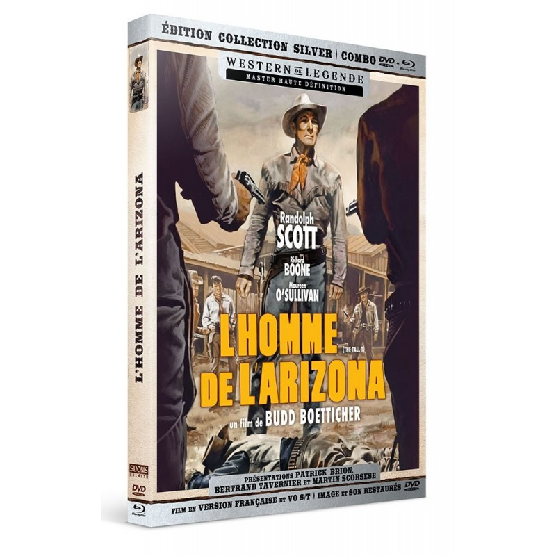 L'Homme de l'Arizona - Combo DVD - Blu-Ray Westerns de Légende