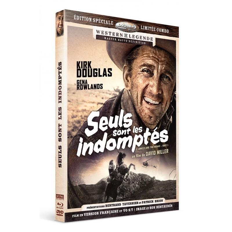 Seuls sont les indomptés - Combo DVD - Blu-Ray Westerns de Légende