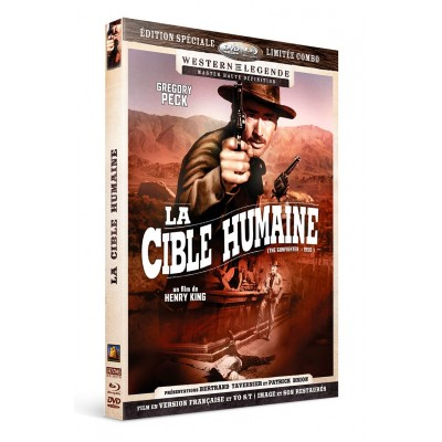 La cible humain - Combo DVD - Blu-Ray Westerns de Légende