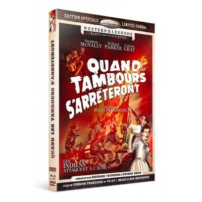 Quand les tambours s'arrêteront - Combo DVD - Blu-Ray Westerns de Légende