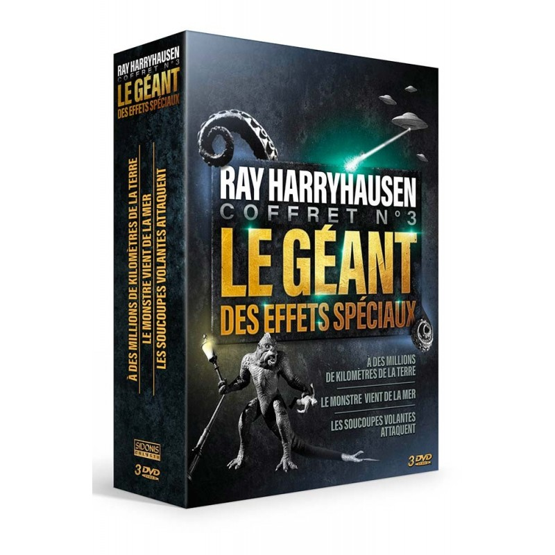 Coffret Ray Harryhausen n°3 Coffrets