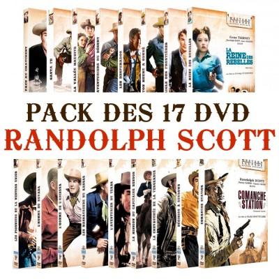 Pack Randolph Scott 17 DVD Accueil