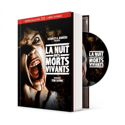 La nuit des morts-vivants - Mediabook Fantastique / Horreur / Science-Fiction