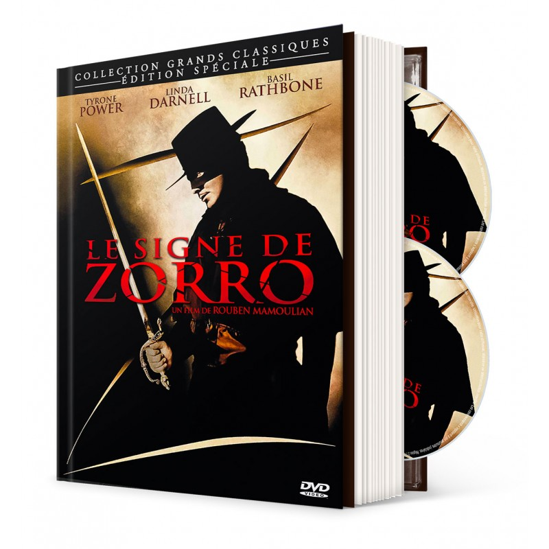 Le Signe de Zorro - Mediabook Aventure / Action