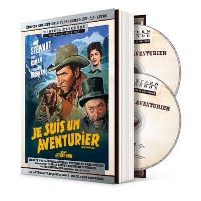 Je suis un aventurier - mediabook Westerns de Légende