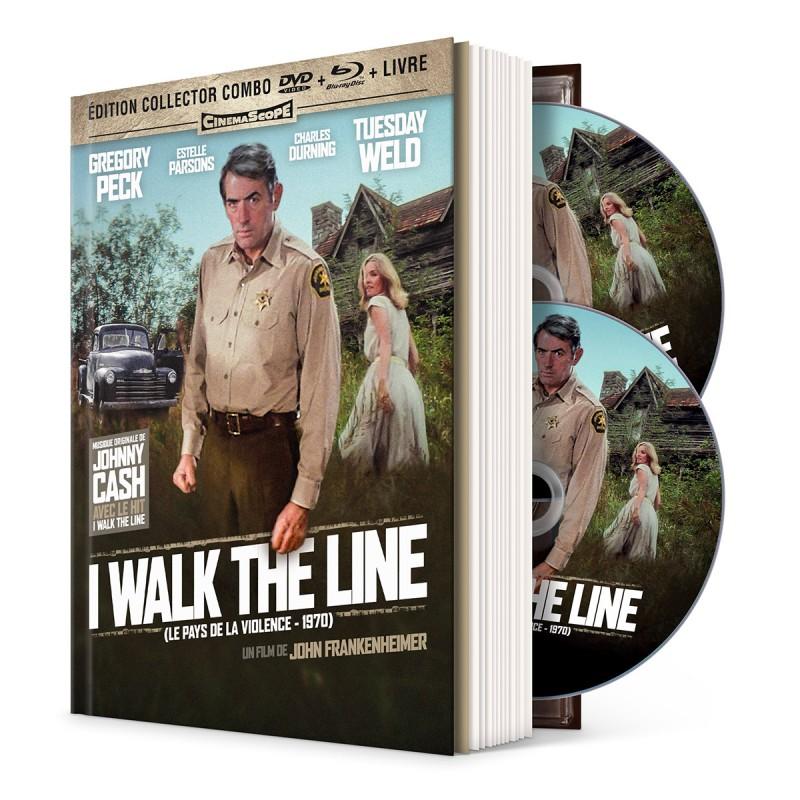 I walk the line - mediabook Thriller / Polar