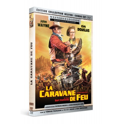 La caravane de feu Westerns de Légende