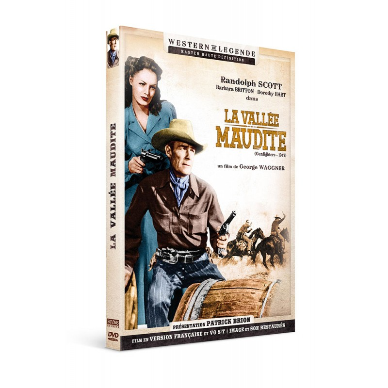 La vallée maudite - DVD Westerns de Légende