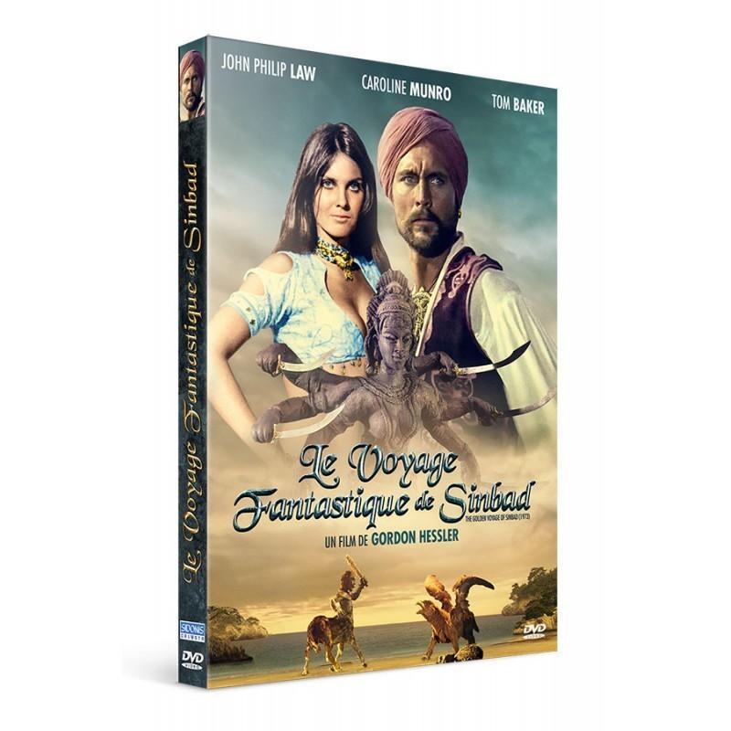 Le voyage fantastique de Sinbad DVD offert