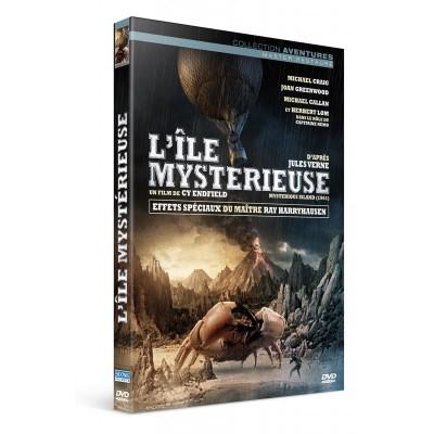 L'île mystérieuse DVD offert