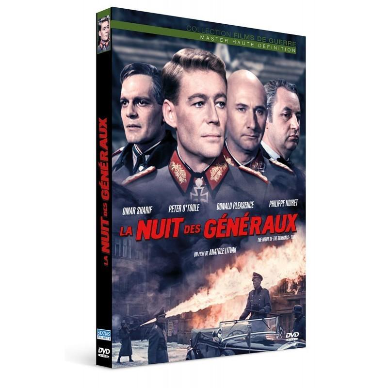 La nuit des généraux Sélection DVD offert