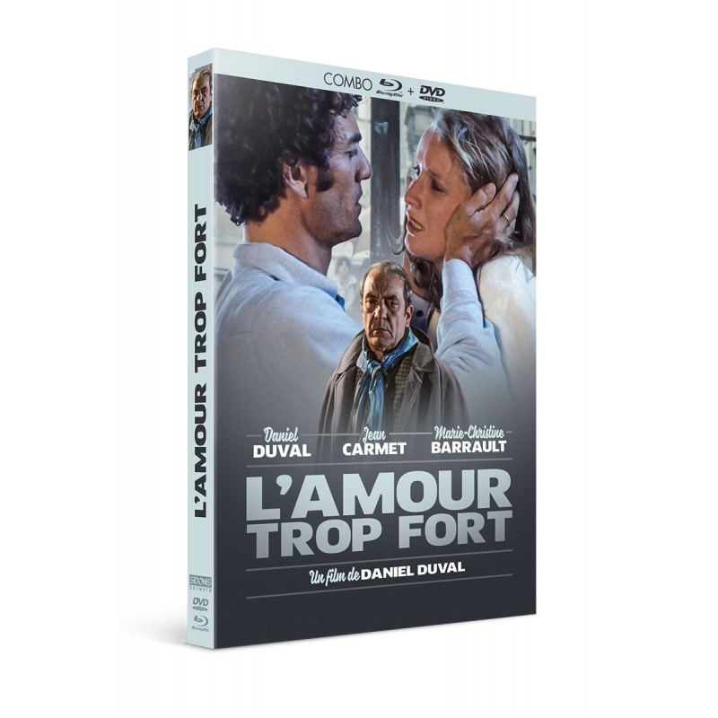 L'amour trop fort - Combo DVD - Blu-Ray Thriller / Polar