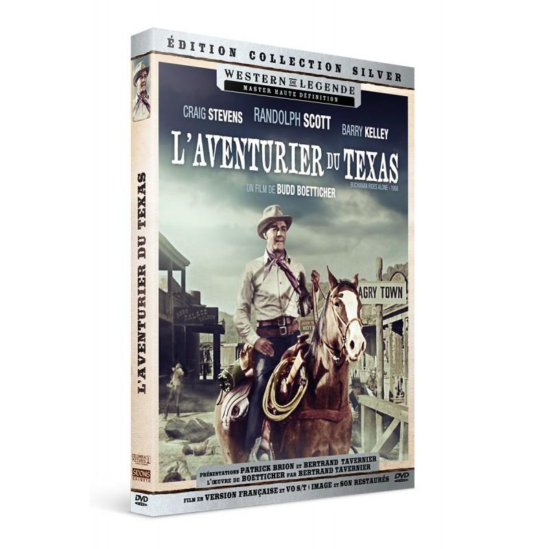 L'Aventurier du Texas - DVD Précommandes rééditions