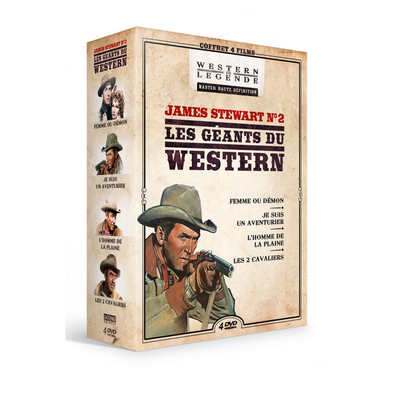 Coffret James Stewart n°2 - 4 DVD Précommandes