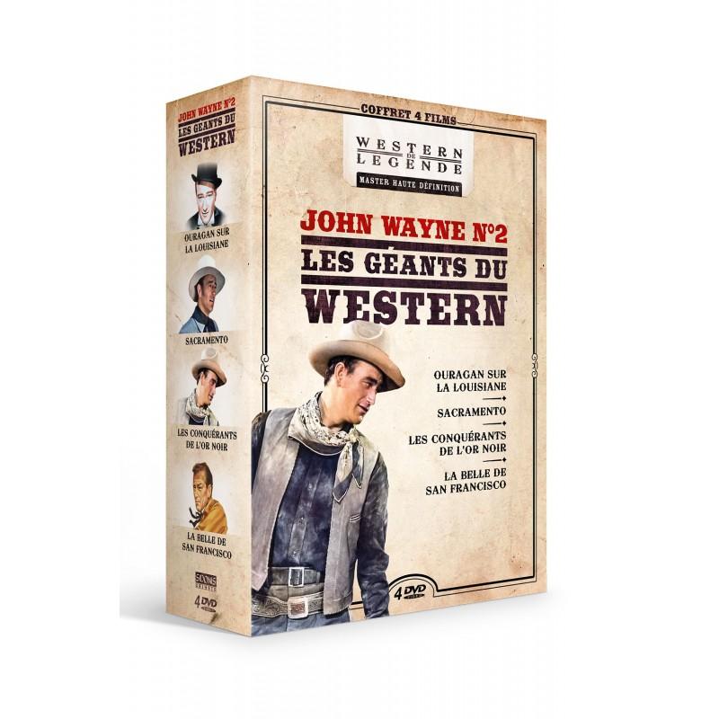 Coffret John Wayne n°2 - 4 DVD Précommandes