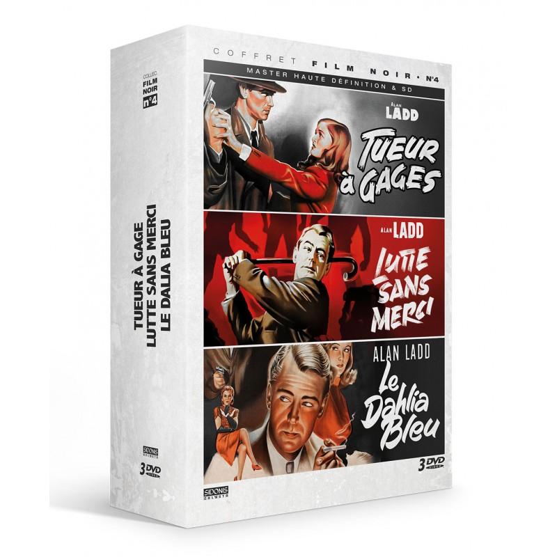 Coffret film noir n°4 - 3 DVD Précommandes
