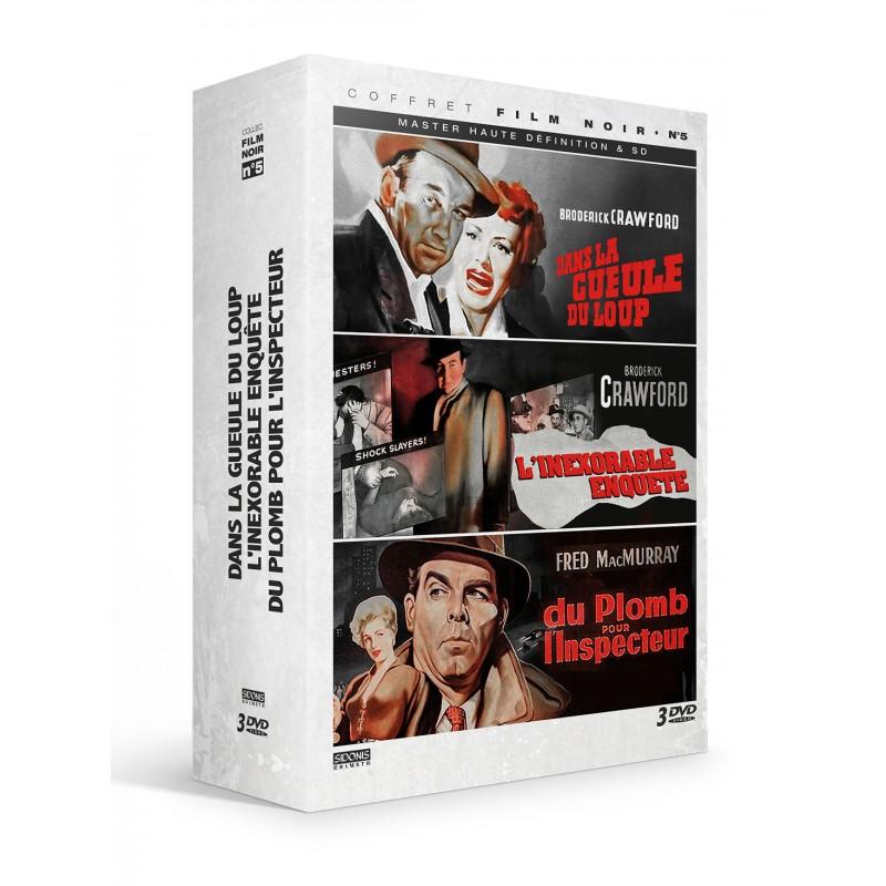 Coffret film noir n°5 - 3 DVD Précommandes