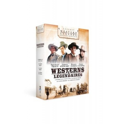 Coffret Blu-Ray Westerns Légendaires - 4 DVD