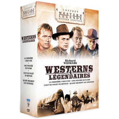 Coffret Richard Widmark - 4 DVD