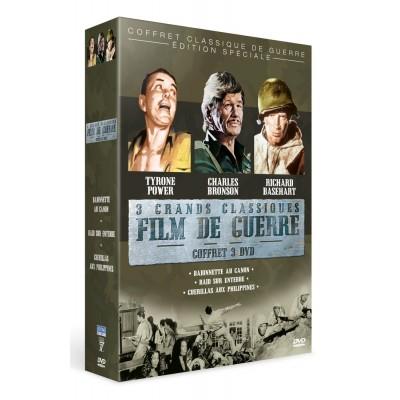 Coffret Films de Guerre - 3 DVD