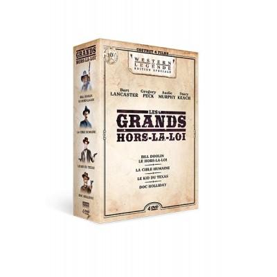 Coffret Les Grands hors-la-loi - 4 DVD