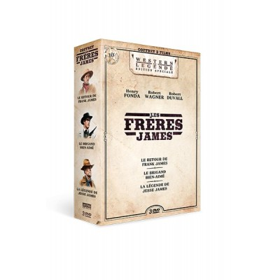 Coffret Frères James - 3 DVD