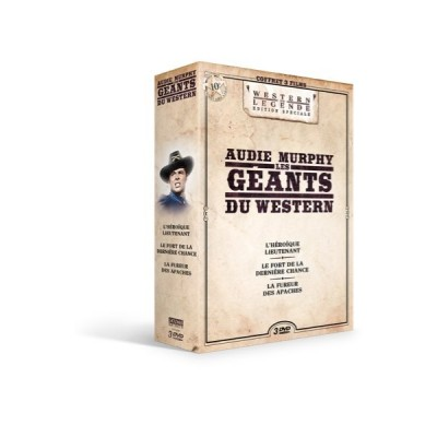 Coffret Audie Murphy 2 - 3 DVD