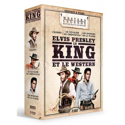 Coffret Elvis Presley - 3 DVD
