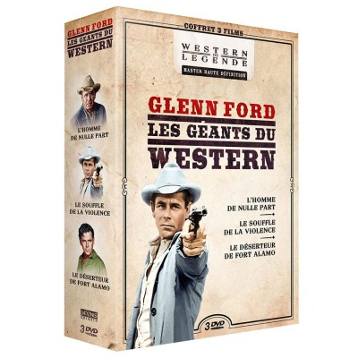 Coffret Glenn Ford - 3 DVD