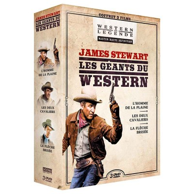 Coffret James Stewart - 3 DVD