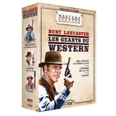 Coffret Burt Lancaster - 3 DVD
