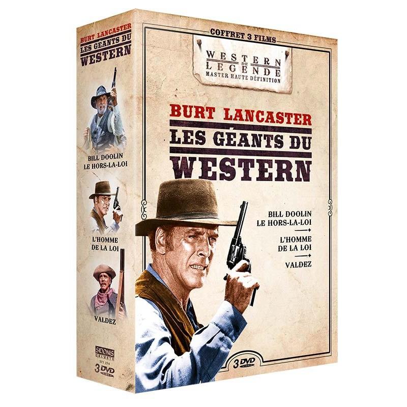 COFFRET BURT LANCASTER DVD