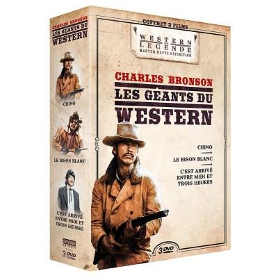Coffret Charles Bronson - 3 DVD