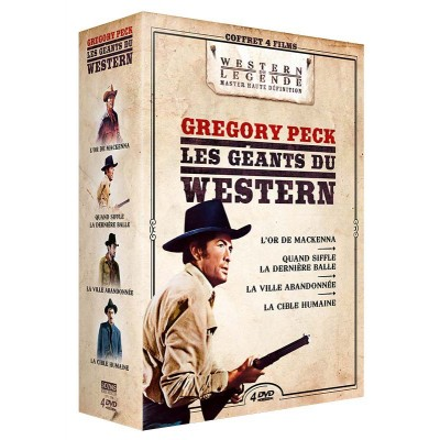 Coffret Gregory Peck - 4 DVD