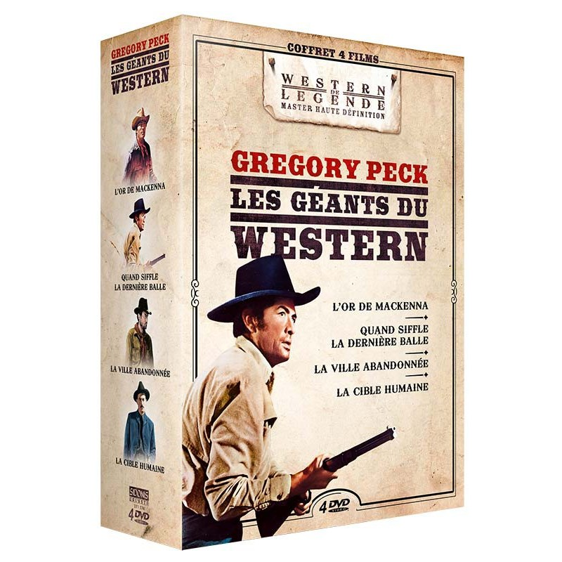 COFFRET - GREGORY PECK