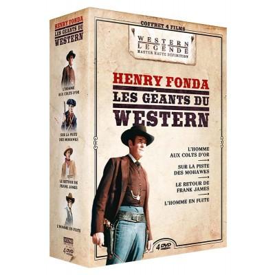 Coffret Henry Fonda Westerns de Légende