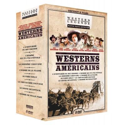 Coffret 8 Westerns américains - 8 DVD