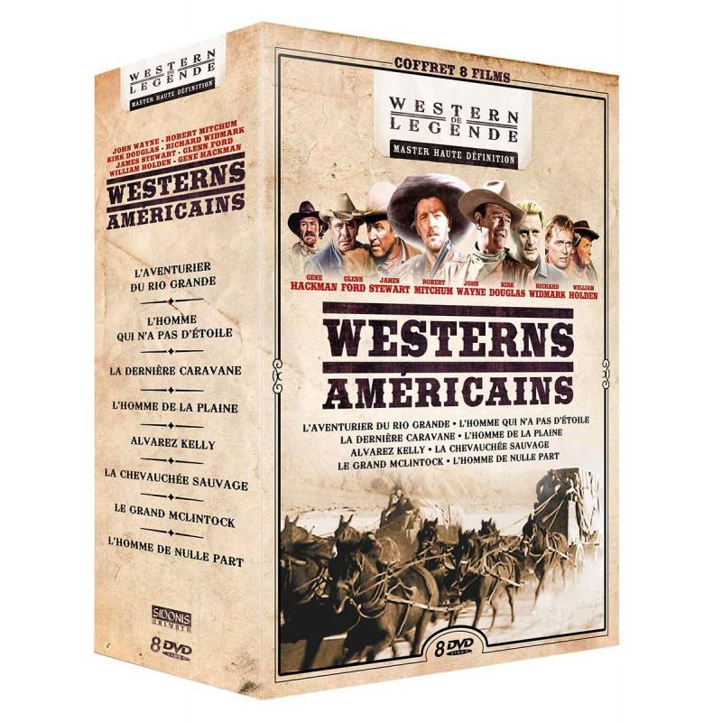 Coffret 8 Westerns américains Coffrets